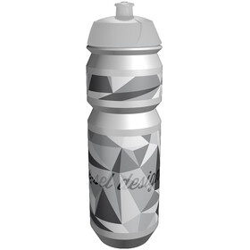 rie:sel design Fla:sche 750 ml triangel grau